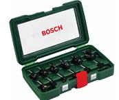BOSCH Coffret de 12 fraises au carbure (queue 8 mm) Réf : 2607019466