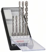 Coffret de 5 forets sds plus 4 taillants Bosch Professionnel Ref : 2608585073