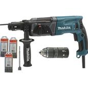 Makita Perforateur Burineur sds + HR2470T-1