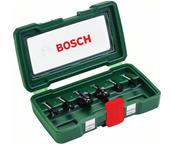 BOSCH Coffret de 6 fraises au carbure (queue 6 mm) Réf : 2607019464