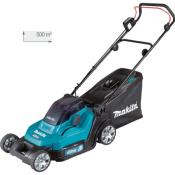 MAKITA Tondeuse 36 V => 2 x 18 V Li-Ion 5 Ah - DLM432CT2