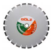 GOLZ Disque diamant coupe à eau SG35 Granit Turbo Technique