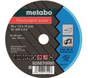 METABO 5 disques Flexiarapid super 76x1,0x10 mm Inox Réf : 626870000