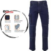 LMA Pantalon multipoches en denim stretch 1624 BARIL