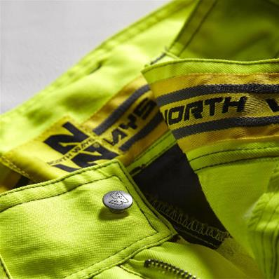 Couleur Signal Pantalons de Travail Courts 280 g//m2 Pantalons Haute visibilit/é avec Bandes r/éfl/échissantes en ISO 20471 CXS Shorts de Travail Norwich Shorts Haute visibilit/é
