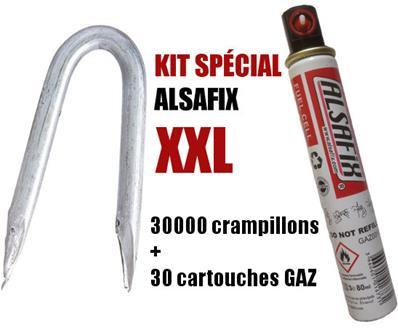 en vrac galvanis/é /à chaud 3,5 x 35 mm Alsafix 5 kg CR350355 Alsafix CR Crampillon HDG